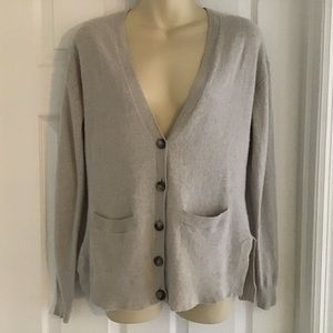 Madewell Wallace Wool Blend Cardigan Sweater